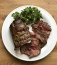 roast topside of beef rare