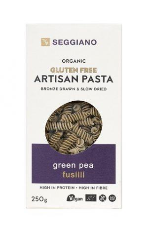 green pea fusilli
